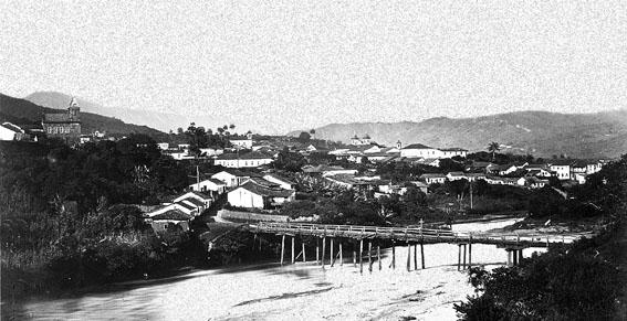 Sabará, no ano de 1869, por Augusto Riedel.